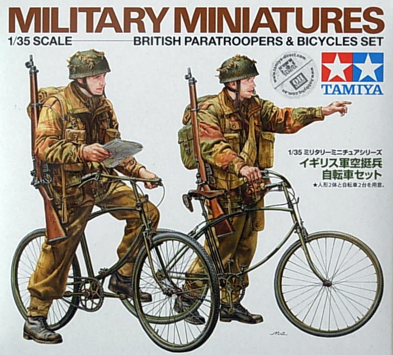 British Paratroopers and Bicycle set