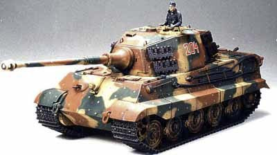 "King Tiger ""Porduction Turret"" (Motorised)"