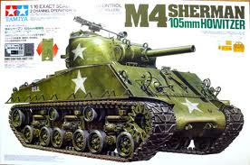 M-4 Sherman-105mm howitzer