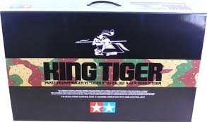 King Tiger- R/C kit (Avail to order.)