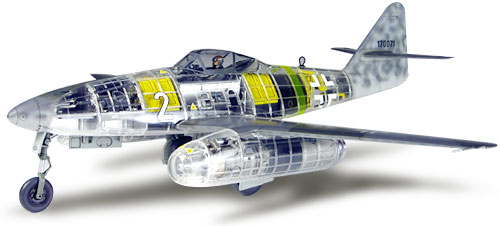 Me-262 A-1A Clear version