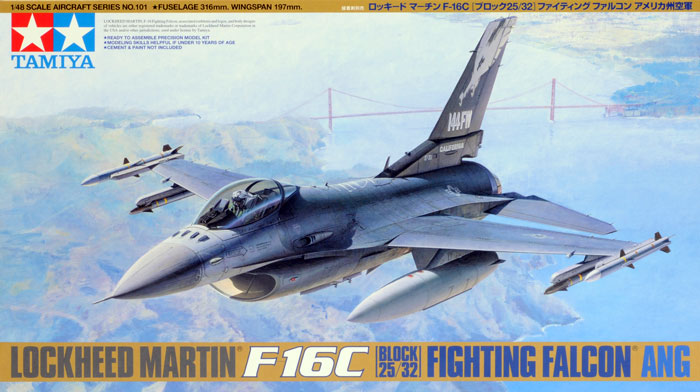 F-16C Block 25/32 Fighting Falcon ANG