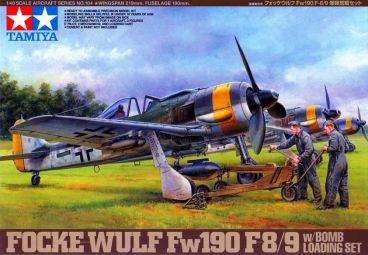 FW-190 F-8/9 with Bomb Loading Set