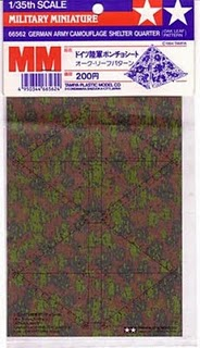 German Camo. Sheet ~ Oak Leaf Pattern