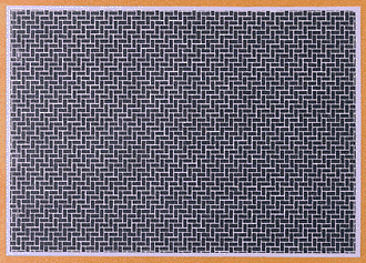 Diorama Material Sheet- Gray-Colored Brickwork