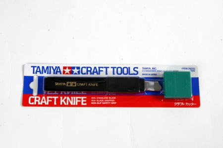 Craft Knife (non-slip safety grip ~ stainless blade)