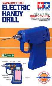 Electric Handy Drill (with 2 drill chucks)
