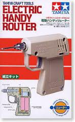 Electric Handy Router (with round headed bit)