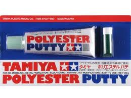 Polyester Putty- great of Zimmerit ~ etc