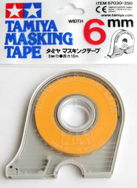 Masking Tape (6 mm Width) with dispenser