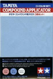 Tamiya Compound Applicator (3 sheets)