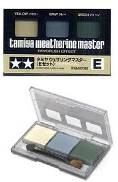 Weathering Pastel E-(yellow ~ grey & green))