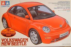 V.W. New Beetle (Metal Plated Body)