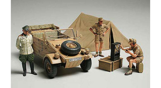 Kubelwagen Africa Corp (Rommel Field Command Post)