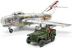 MIG-15 clear version w/GAZ-67B