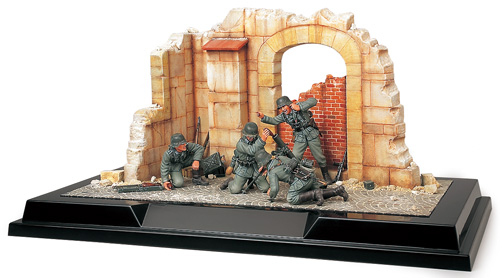 Scenery Set #1 - German Mortar Team France 1940