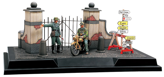 Scenery Set #2 - German Field Police Normandy 1944