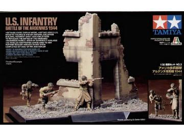 Scenery Set #3 - U.S. Infantry in Ardennes 1944