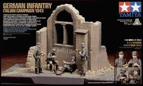 Scenery Set #4- German Infantry ~ Italian Campaign 1943