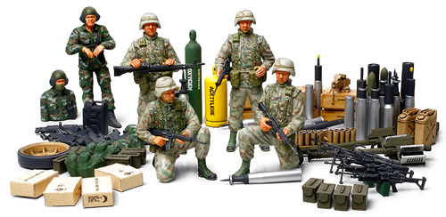 U.S. Modern Elite Infantry w/Accessory Set