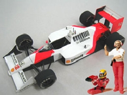 McLaren MP4/4 with Driver