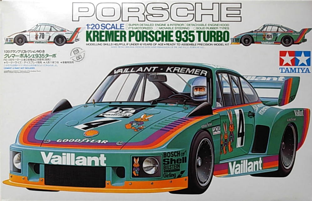 "Porsche 935 Turbo ""Kremer"" (may have soiled decal)"