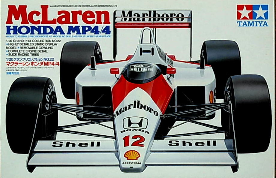 McLaren Honda MP4/4 full kit w/ Marlboro decals