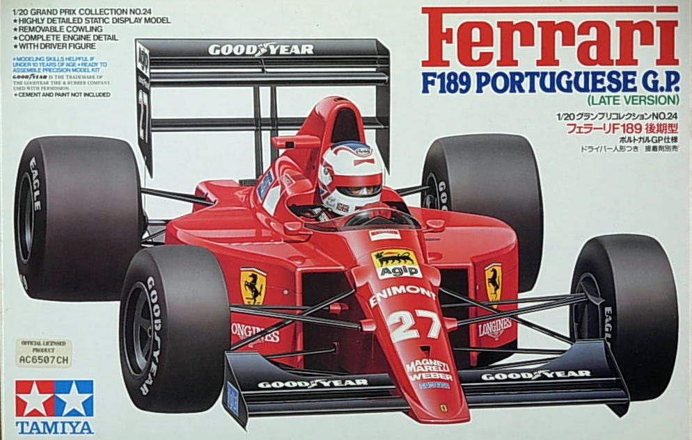 Ferrari F-189 Late Version- Portuguese