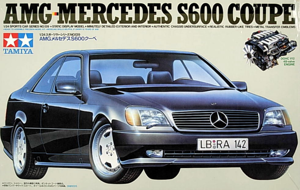 AMG-Benz S-600 Coupe