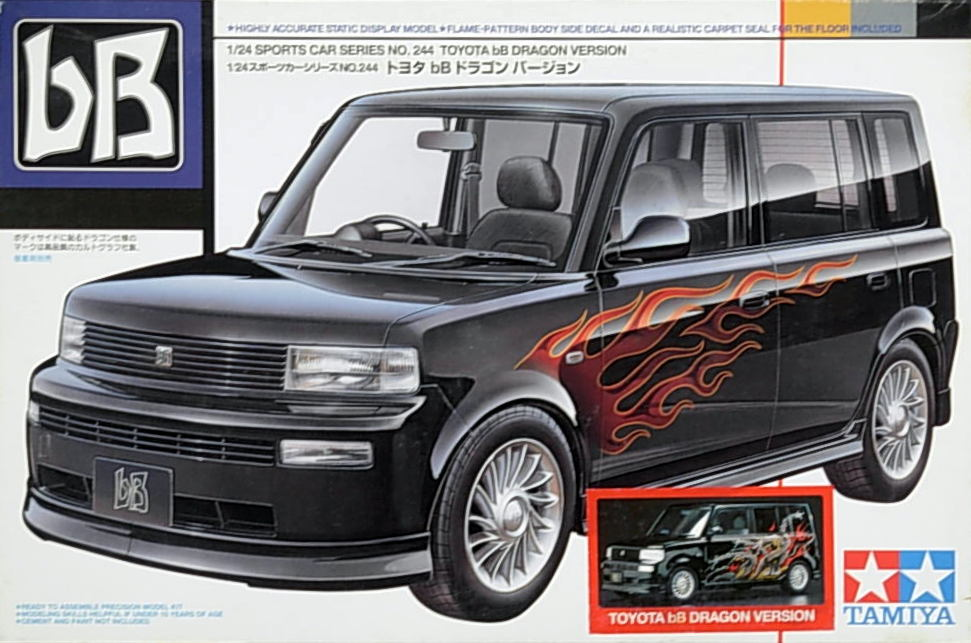 Toyota Bb Wagon w/ Ltd Edition Dragon Decal