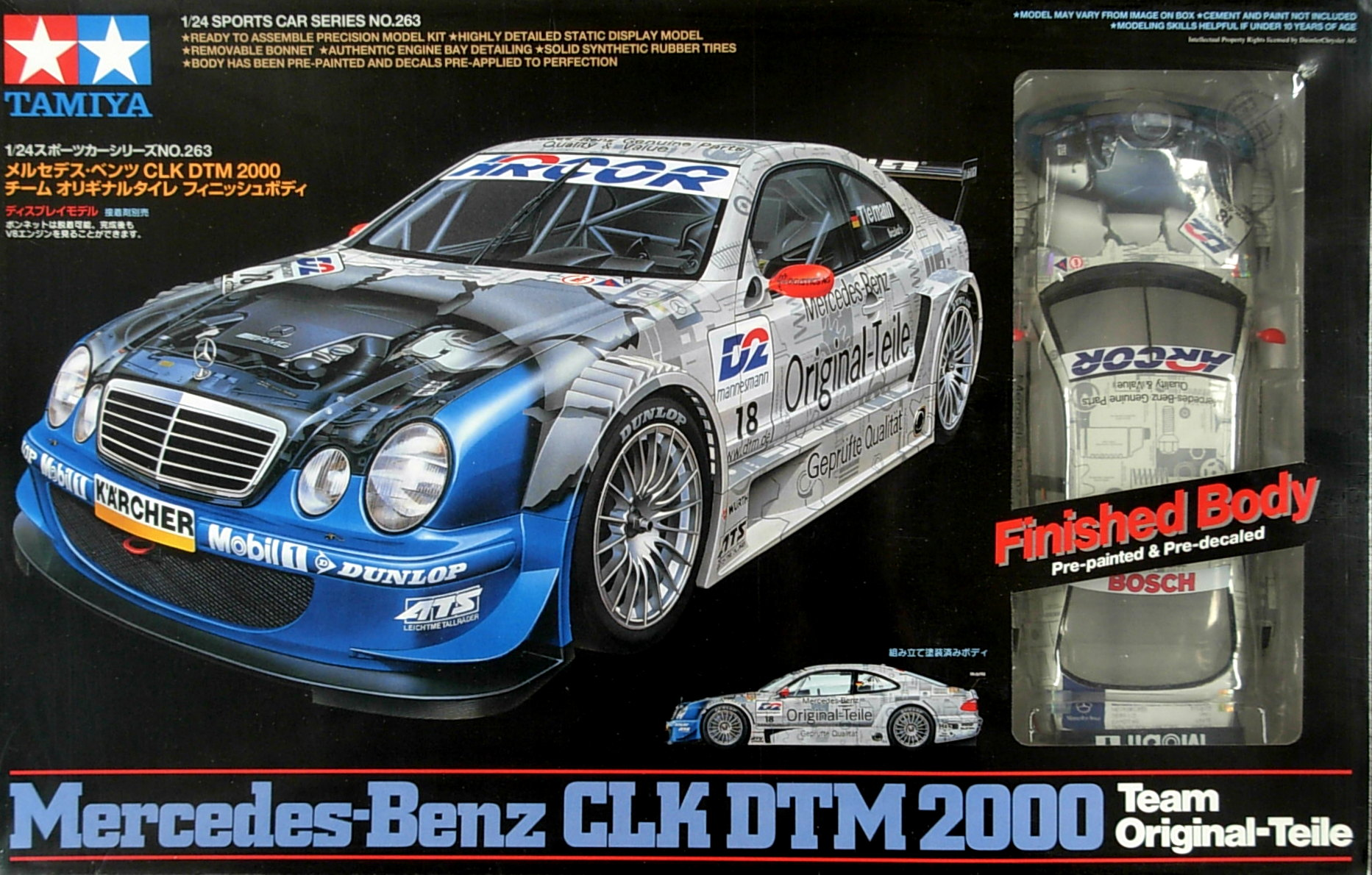 Merc CLK full kit with Painted Body