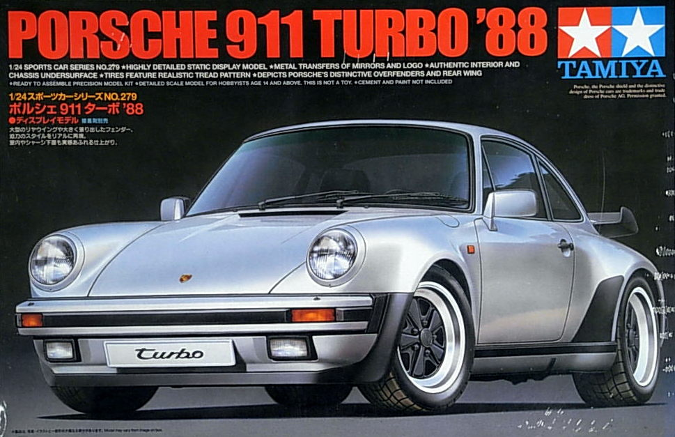 1988 Porsche 911 Turbo Sports car