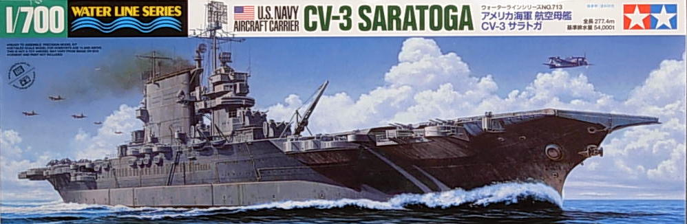 US Aircraft Carrier Saratoga (CV-3)