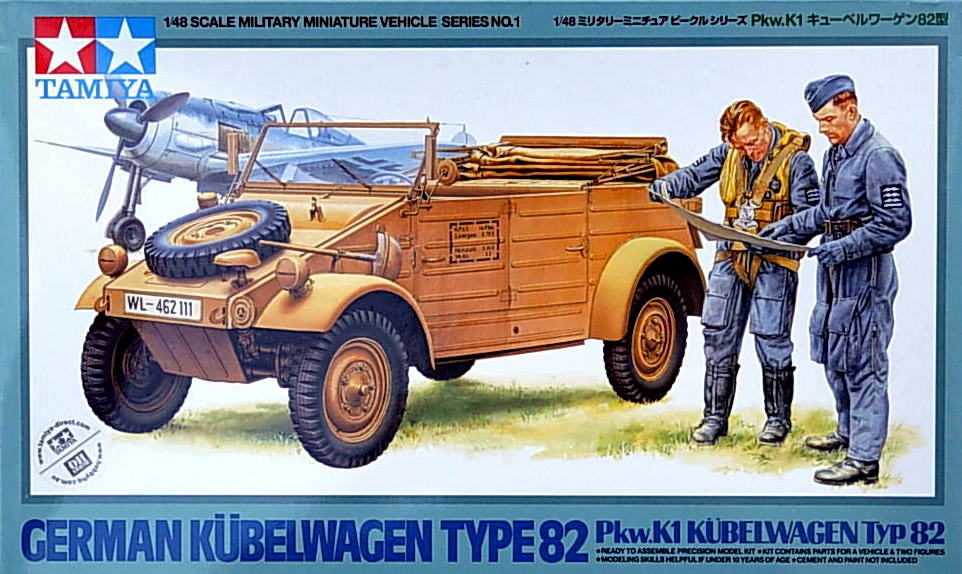 Kubelwagen with 2 figures