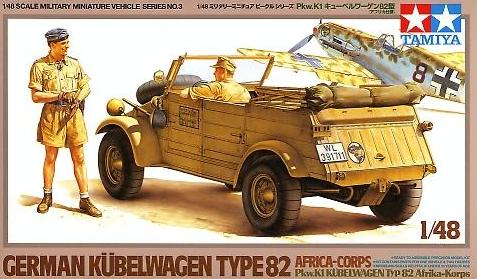 Kubelwagen Africa Corps with 2 figures