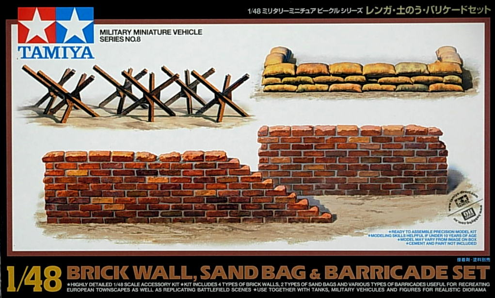 Accessory kit- Birck Walls ~ Sand Bags etc