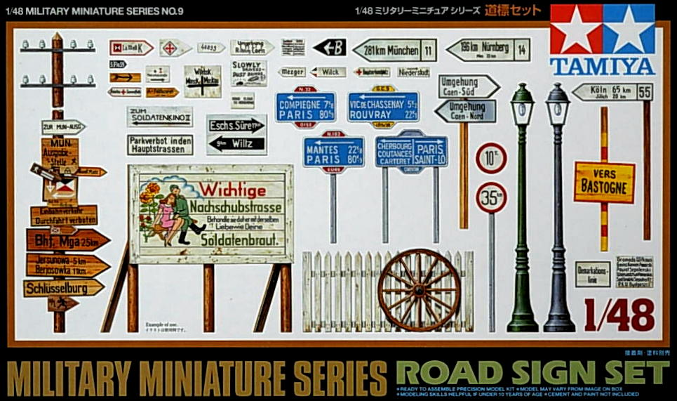 Accessory set- Road Sign Set