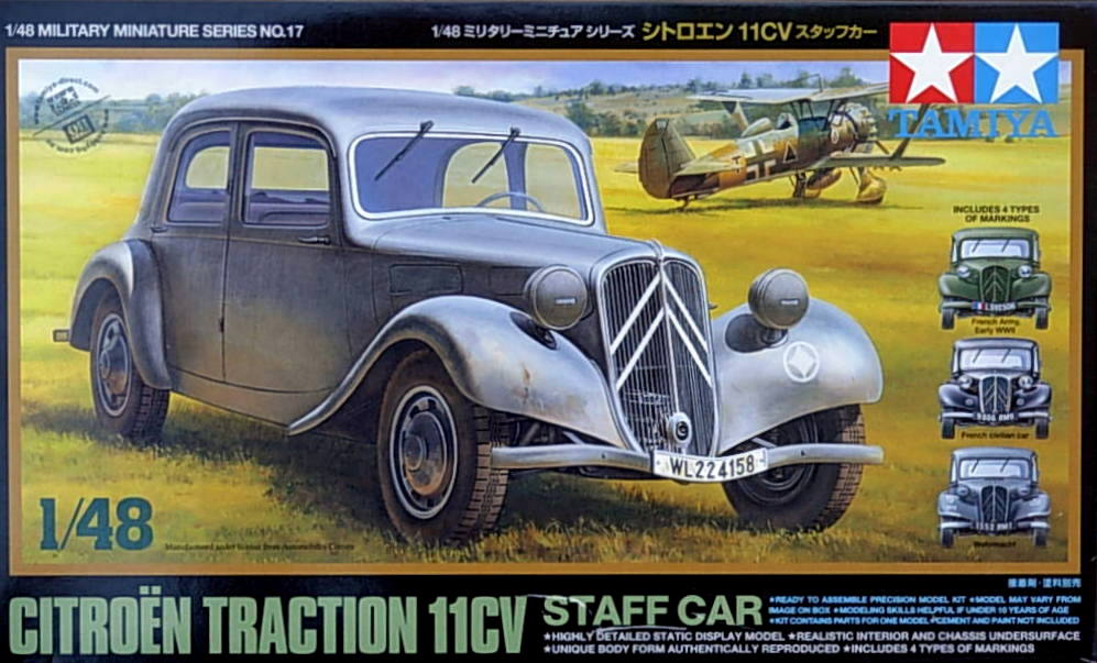 Citroen 11CV Staff Car