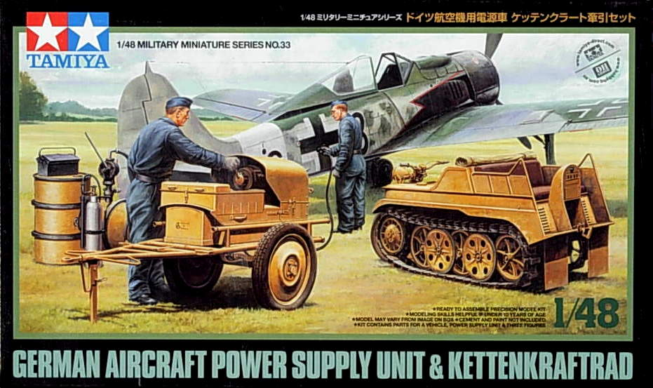 Kettenkraftrad with Aircraft Power Supply Unit