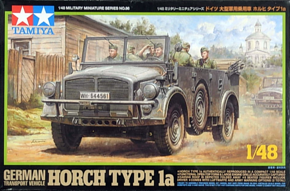 German Horch 4 X 4 Type 1a