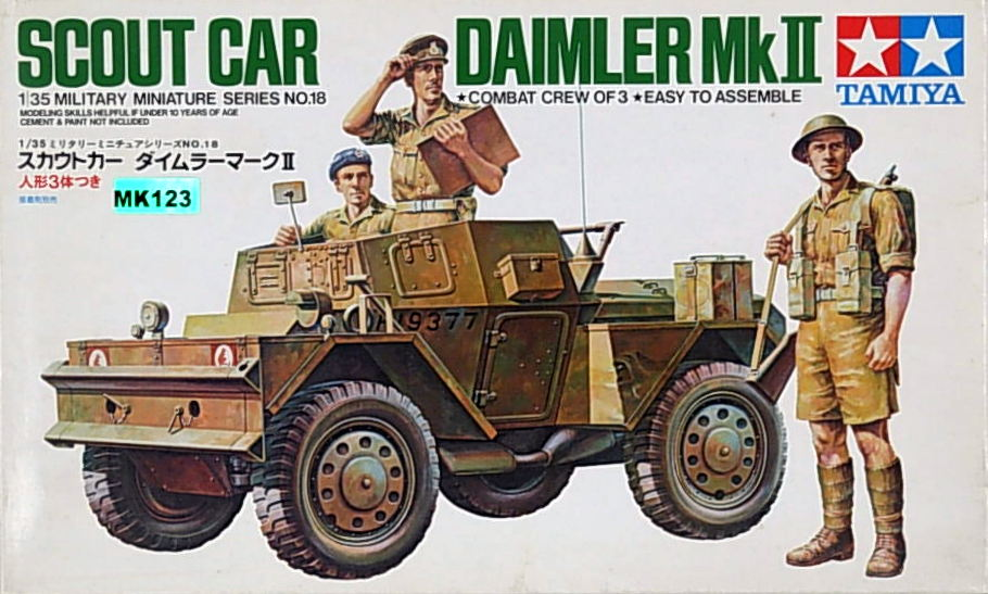 British Scout Car Daimier Mk. II