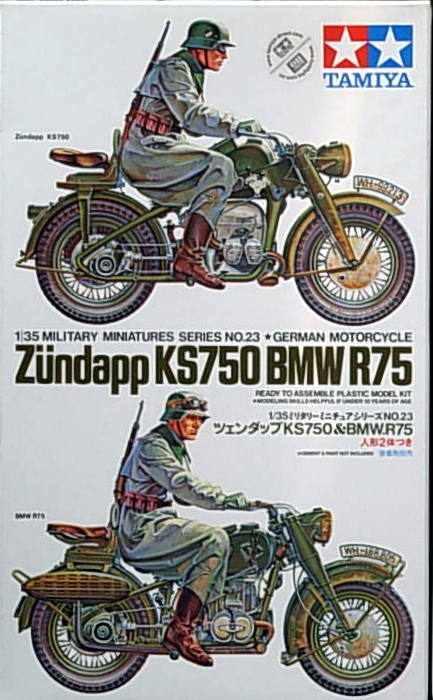Zundapp KS750 & BMW R/75 with riders