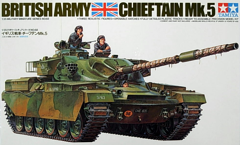 Chieftain Mk.5 British MBT