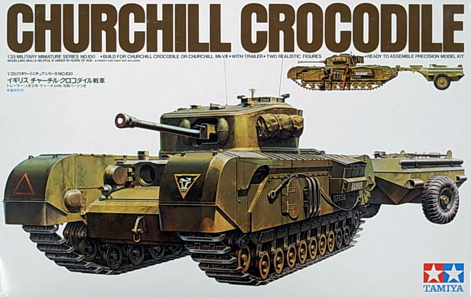 "Churchill Crocodile Mk.7 ""Flamethrower"""