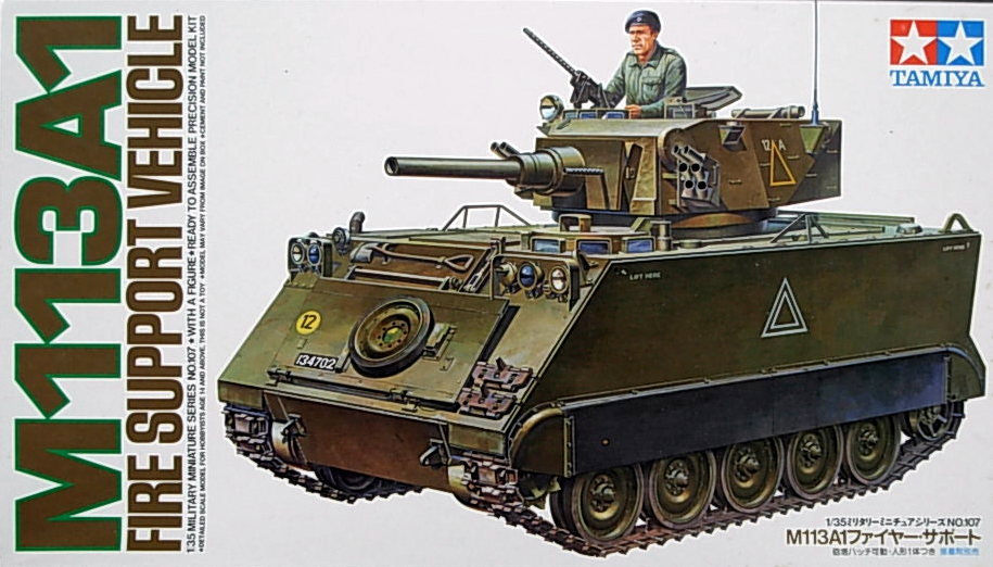 M113A1 Fire Support Vehicle