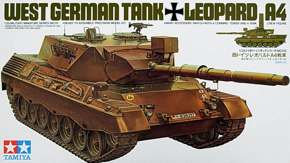 German Leopard A4 (Similar to Aust type)