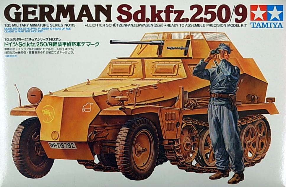 German Sd.Kfz. 250/9 Half-Track