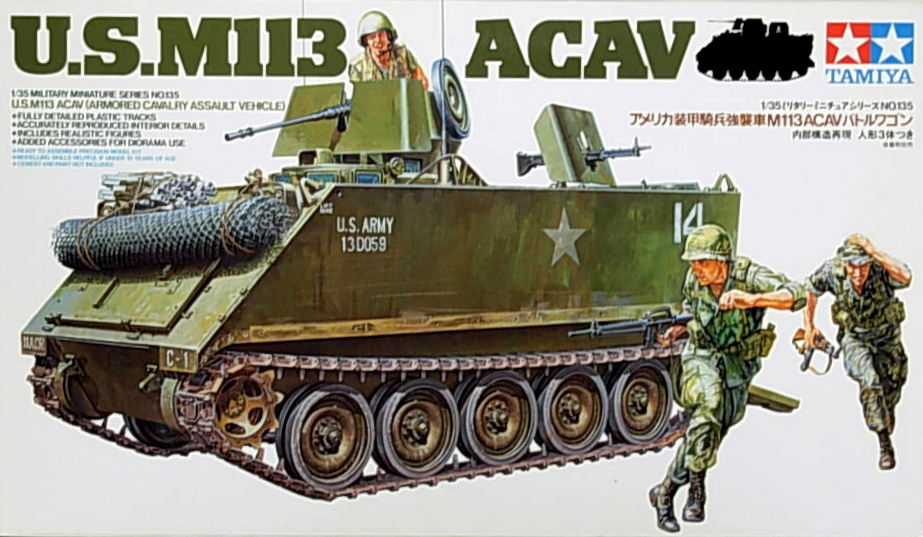 M-113 ACAV (Armored Cavalry Assault Vehicle)