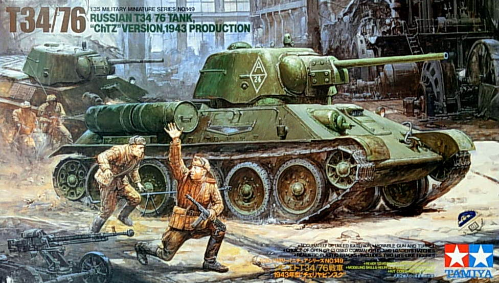 "T-34/76 ""ChTZ"" Version 1943 Production"