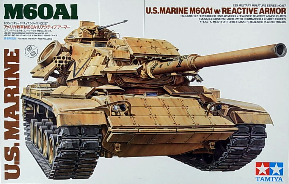 M-60 A1 with Reactive Armor